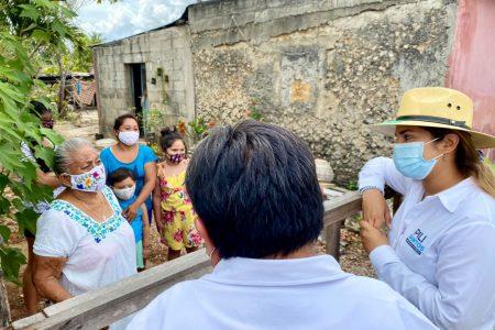Las familias deben recibir todos los apoyos para salir adelante: Pili Santos