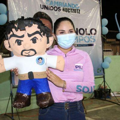 El primer paso para resolver los problemas es ir a votar: Pili Santos