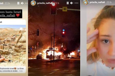 Yucateca en Israel, atrapada en medio de un bombardeo