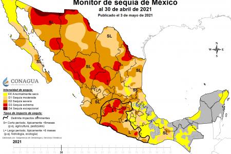 La Península de Yucatán, en la antepuerta de la sequía