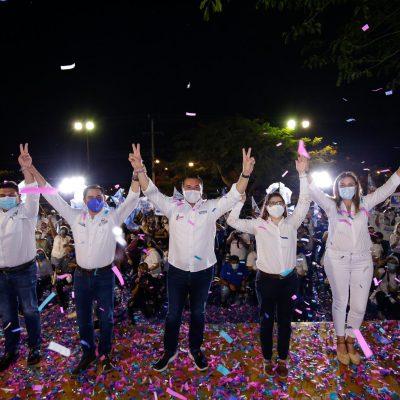 Para tener Más Mérida, el 6 de junio contamos con tu voto: Renán Barrera