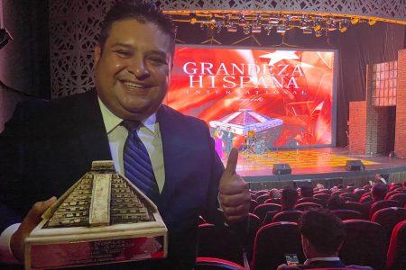 Yucatecos destacan en los Grandeza Hispana International Awards