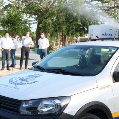El Ayuntamiento realiza jornadas de fumigación y abatización en toda la ciudad