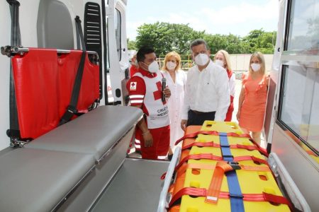 El alcalde Alejandro Ruz destaca la labor humanitaria de la Cruz Roja Mexicana