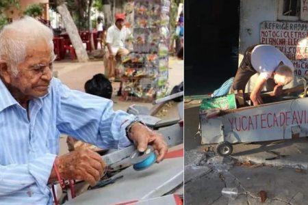Fallece don Juan Rosado, creador de los trici-aviones del Centenario