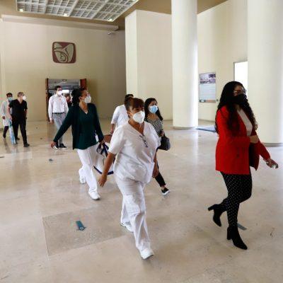 Participan más de 197 mil trabajadores del IMSS en el Primer Simulacro Nacional 2021