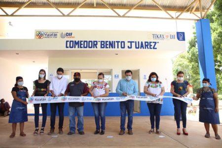Tekax inaugura su noveno comedor comunitario