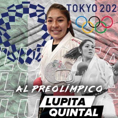 La yucateca Lupita Quintal, en el preolímpico de karate rumbo a los Juegos de Tokio