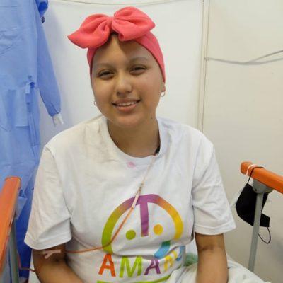 Naomy, joven que lucha contra la leucemia, podrá festejar sus XV años gracias al apoyo de la gente