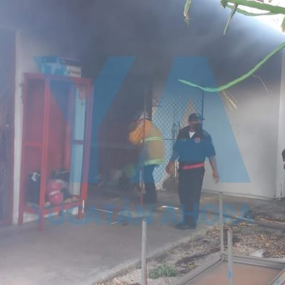 Se incendia bodega en el Centro de Rehabilitación y Educación Especial