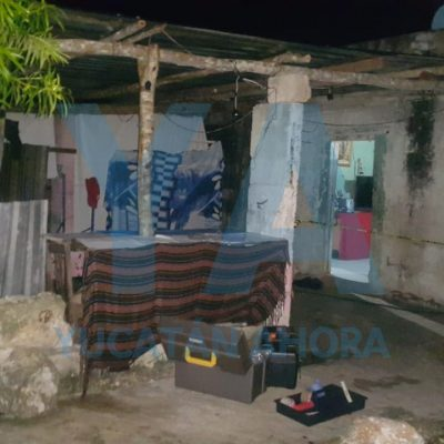 Joven le dispara a su cuñado menor de edad, en municipio yucateco