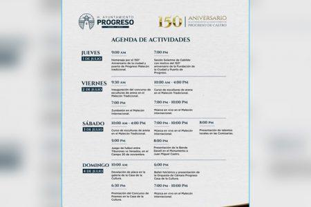 Progreso festejará su 150 aniversario este fin de semana