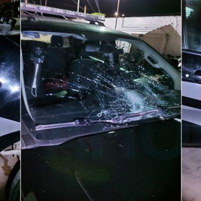 Detención de operador político en Akil fue por golpear a un agente y chocar una patrulla en Xaya: Policía de Tekax