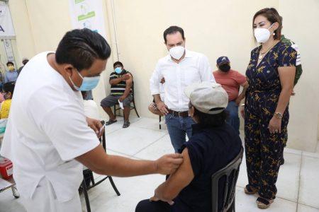 Otro récord de vacunas en Yucatán: ayer se aplicaron más de 36 mil dosis contra el coronavirus