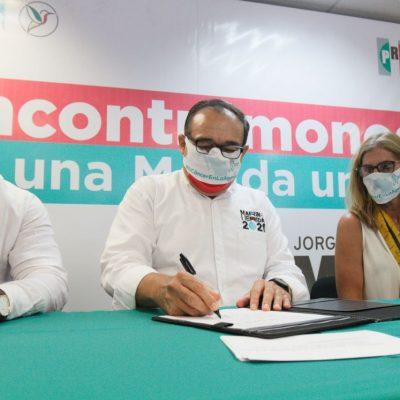 Ramírez Marín se compromete en la lucha contra el cáncer