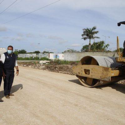 Avanza el mejoramiento de espacios públicos en Mérida