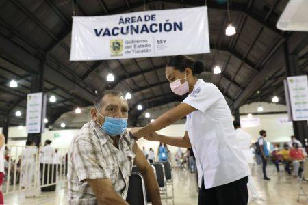 Con 40,342 dosis contra el Coronavirus aplicadas, ayer se establece un nuevo récord