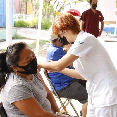 Inicia vacunación de personas de 40 a 49 años en Yucatán