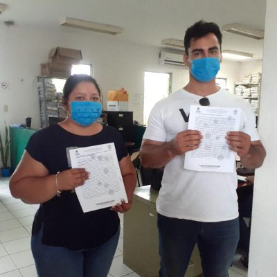 Operadores priistas disparan contra candidatos a regidores del PAN en Tizimín