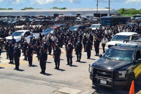 """Por las elecciones, """"acuartelan' a policías de la SSP Yucatán"""