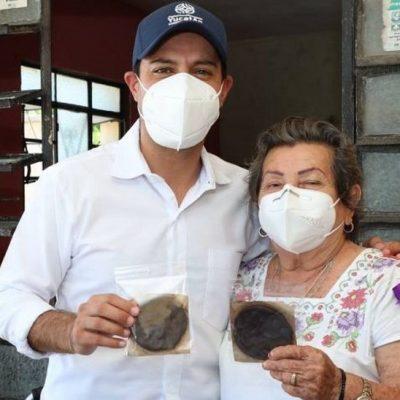 Familia de Sinanché preserva la tradición de elaborar tablillas de chocolate caseras