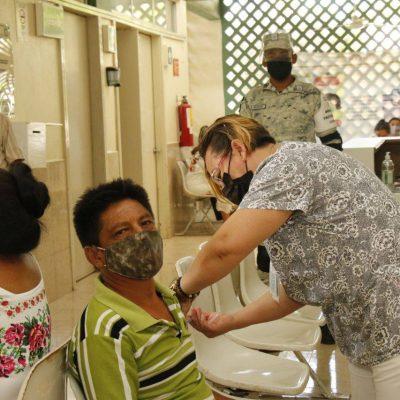 En Yucatán la vacunación avanza a buen ritmo y de manera ordenada