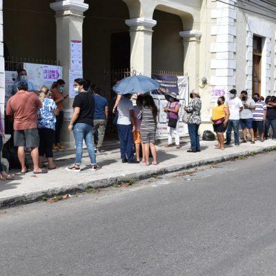 Ejemplar y entusiasta jornada electoral de miles de yucatecos