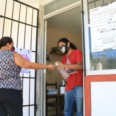 Inicia la jornada electoral con buena afluencia y participación de yucatecos