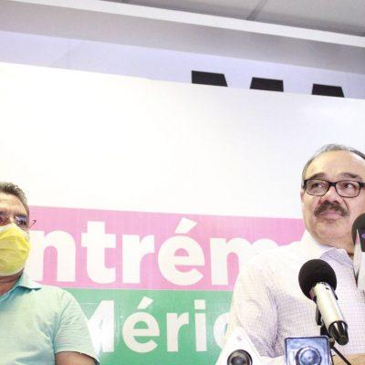 Reconoce Jorge Carlos Ramírez Marín que la votación de los meridanos no le favorece