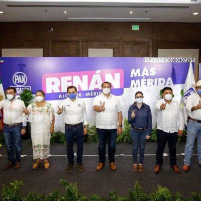 Si en el país hubiera más gobiernos como los del PAN en Yucatán, México sería mucho mejor: Renán Barrera