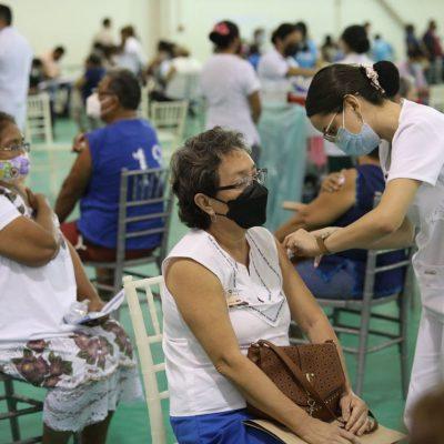 Se reanuda la vacunación contra Covid-19 en Mérida
