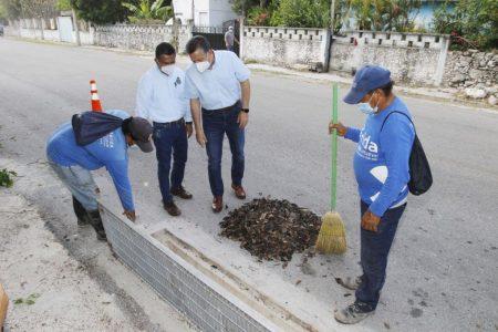 El Ayuntamiento mejora la infraestructura urbana en las comisarías y previene contratiempos por las lluvias