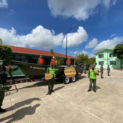 El Ejercito, preparado ya para la temporada de ciclones tropicales