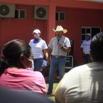 Pedro Couoh agradece a la estructura que lo ayudó a triunfar en Tizimín