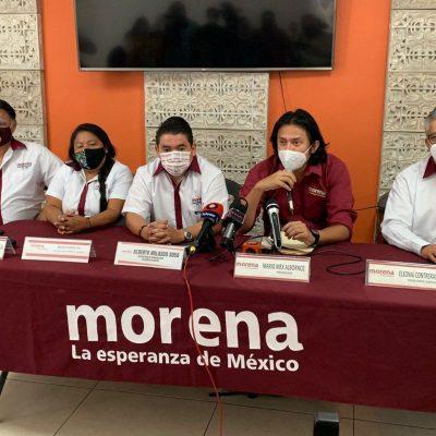 Responsabilizan a la dirigencia nacional de Morena por fracasos en Yucatán