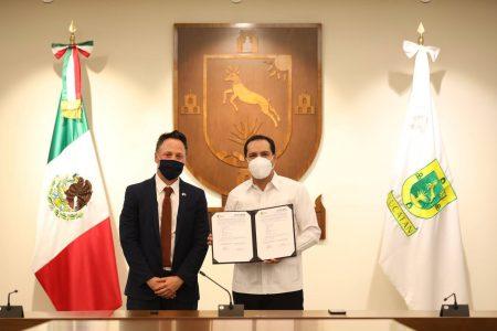 Yucatán y la Embajada de Israel firman carta de intención para ampliar la cooperación e intercambio en diversos campos