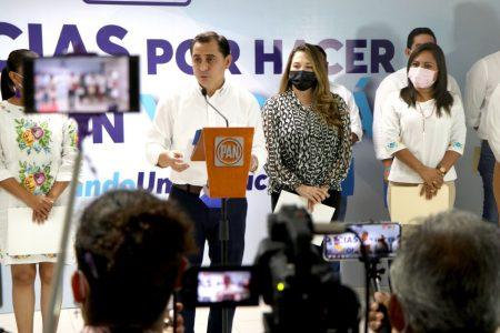 Nuestra propuestas convencieron porque son en beneficio de la gente: Asís Cano, presidente del PAN