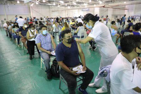 Concluye la jornada de vacunación de adultos de 40 a 49 en Mérida