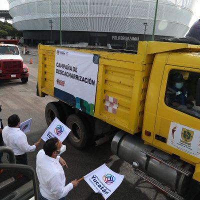 Arranca la campaña de descacharrización en colonias y comisarías de Mérida