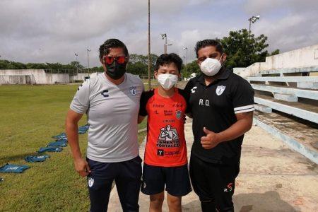 Joven futbolista yucateco, seleccionado para probarse en Pachuca