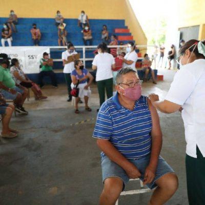 Comienza la aplicación de primeras y segundas dosis para yucatecos del interior del estado
