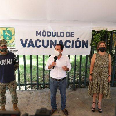 Mauricio Vila subraya la capacidad de gestión de Liborio Vidal: es el perfil que requiere la Segey