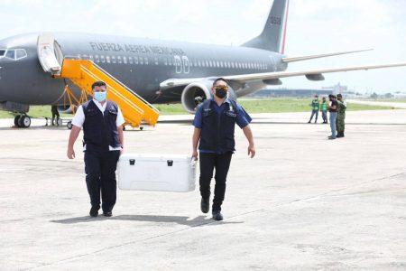 Llegan a Yucatán 78,700 dosis para avanzar con la vacunación contra el Coronavirus en el estado