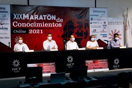 Destacan la importancia de la labor conjunta del Ayuntamiento y el Colegio de Contadores Públicos de Yucatán