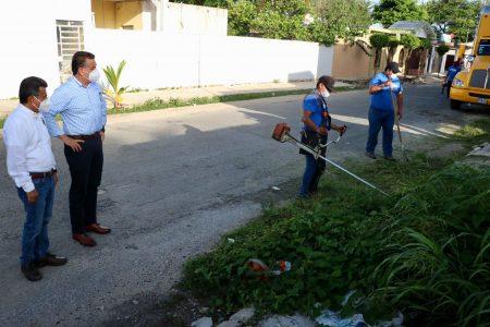 El Ayuntamiento intensifica acciones integrales en Mérida para evitar contratiempos por las lluvias