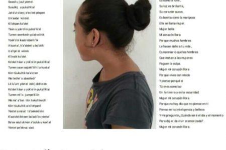 Niña maya denuncia con poesía violencia de género y gana Premio Gusanos de la Memoria