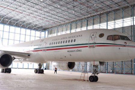 Venden antiguo avión presidencial, en 65 millones millones de pesos