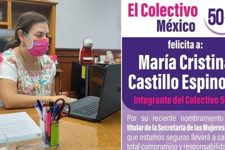 Grupo plural de mujeres da 'espaldarazo' a María Cristina Castillo