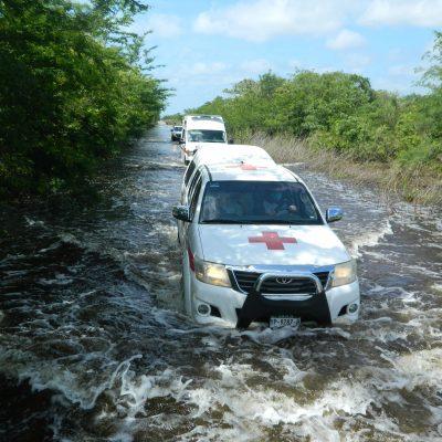 Voluntarios de la Cruz Roja, listos ante la temporada de huracanes 2021