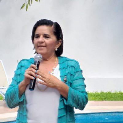Yo no estoy por el dinero, yo estoy para servir a los meridanos: Nelly Ortiz